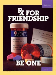 Mormon Ad Rx for Friendship: Be One