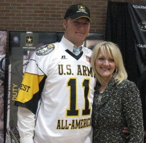 All-American Football Player is the Sum of His Choices
