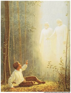 Joseph Smith prayed to know which church to join.