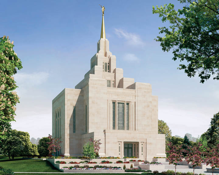 Mormon Teens Celebrated a Mormon Temple in Ukraine