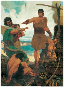 The Book of Mormon tells of many great heroes.