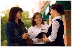 Mormon missionaries spend their lives learning the gospel of Jesus Christ.
