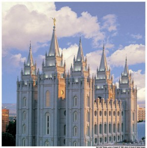Mormon temples are sacred to Mormon beliefs
